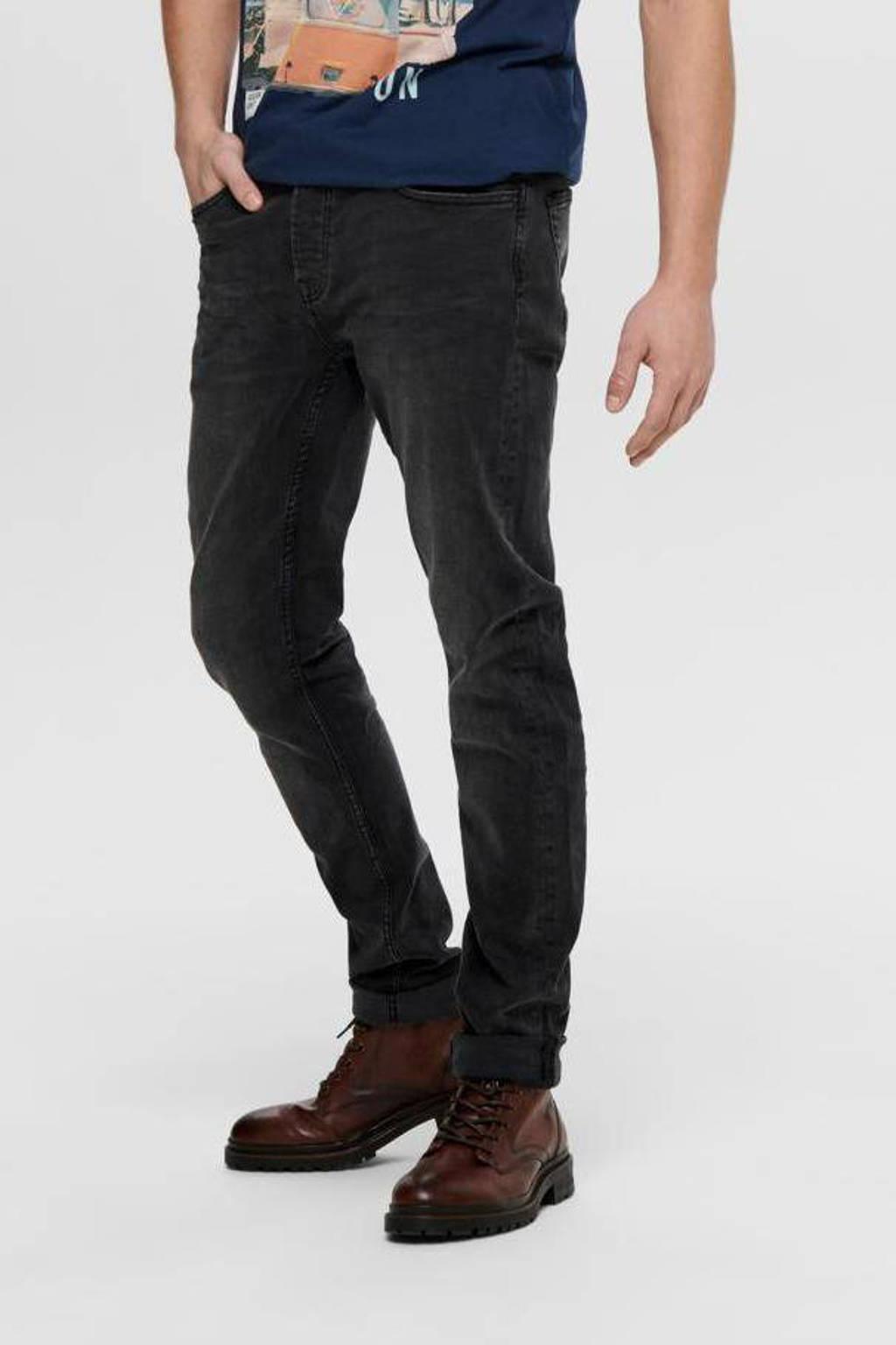 ONLY & SONS slim fit jeans ONSLOOM Black Denim 0447