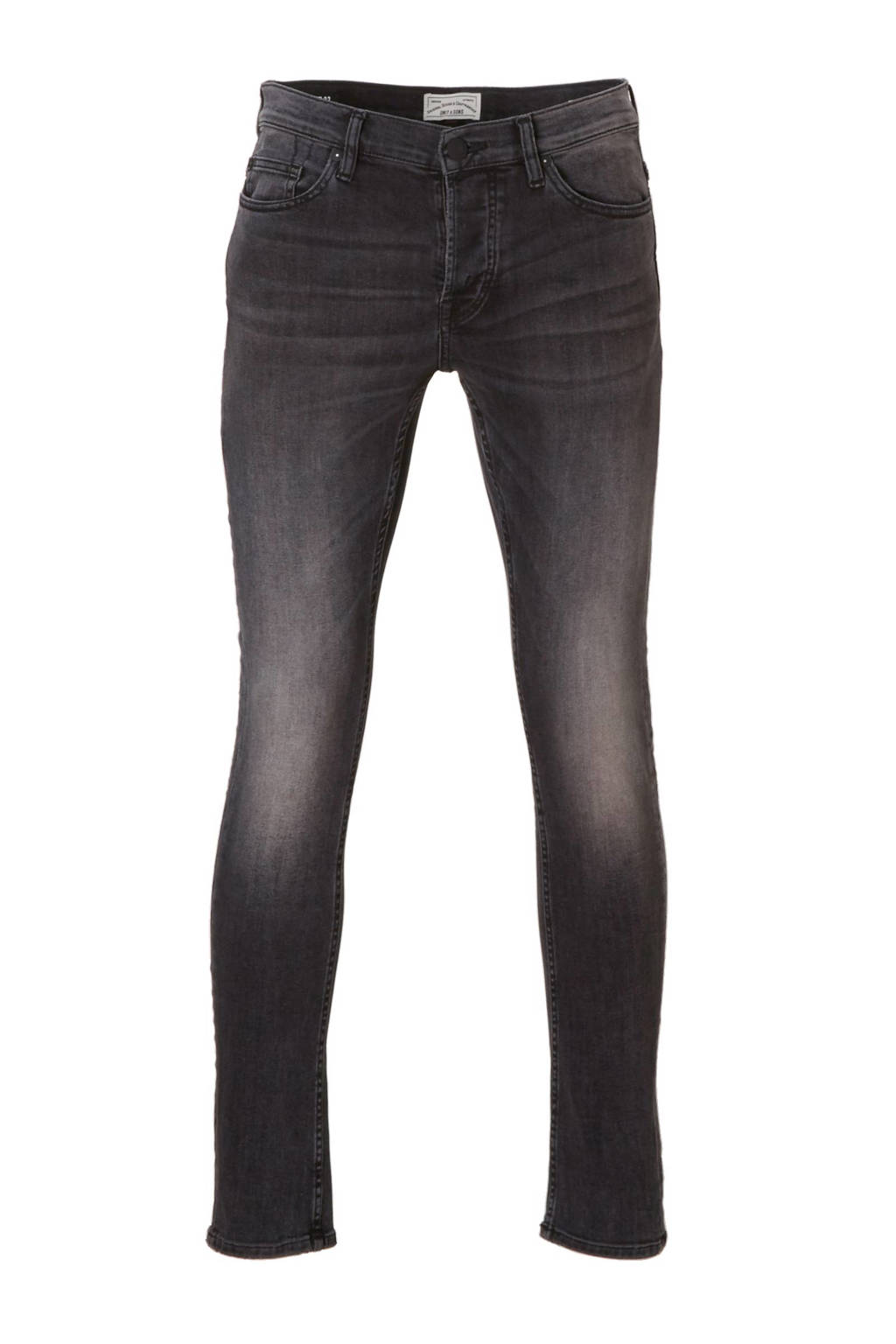 Only & Sons slim fit jeans Loom, Black Denim 0447