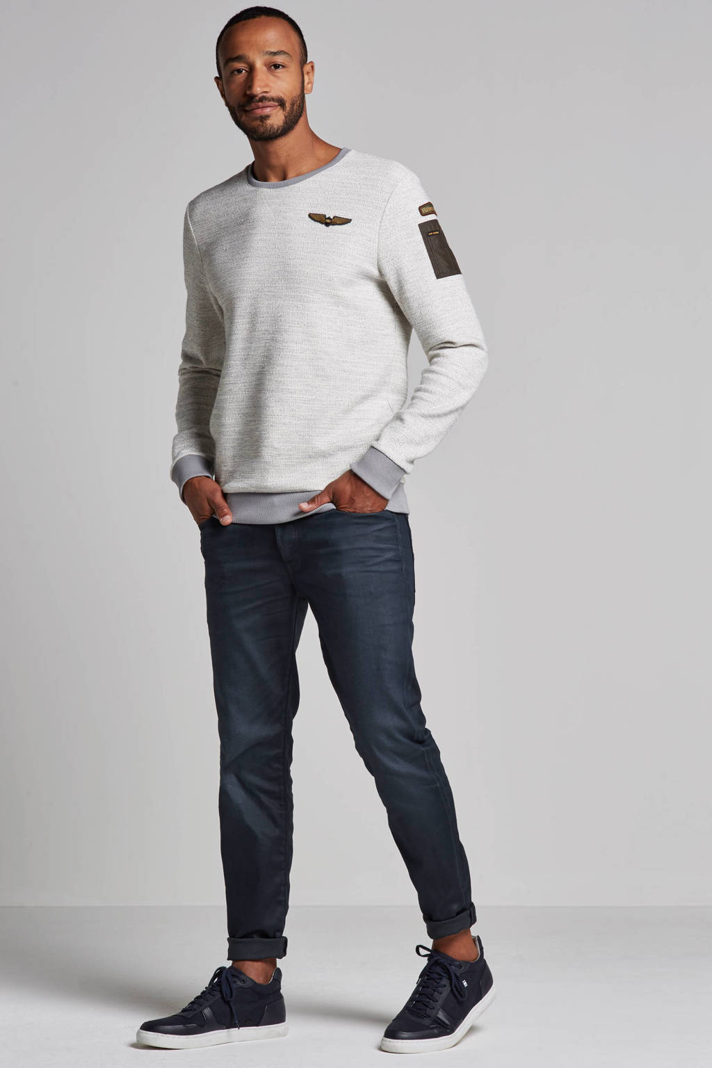 JACK & JONES regular fit jeans Clark grey denim, 913 Grey Denim