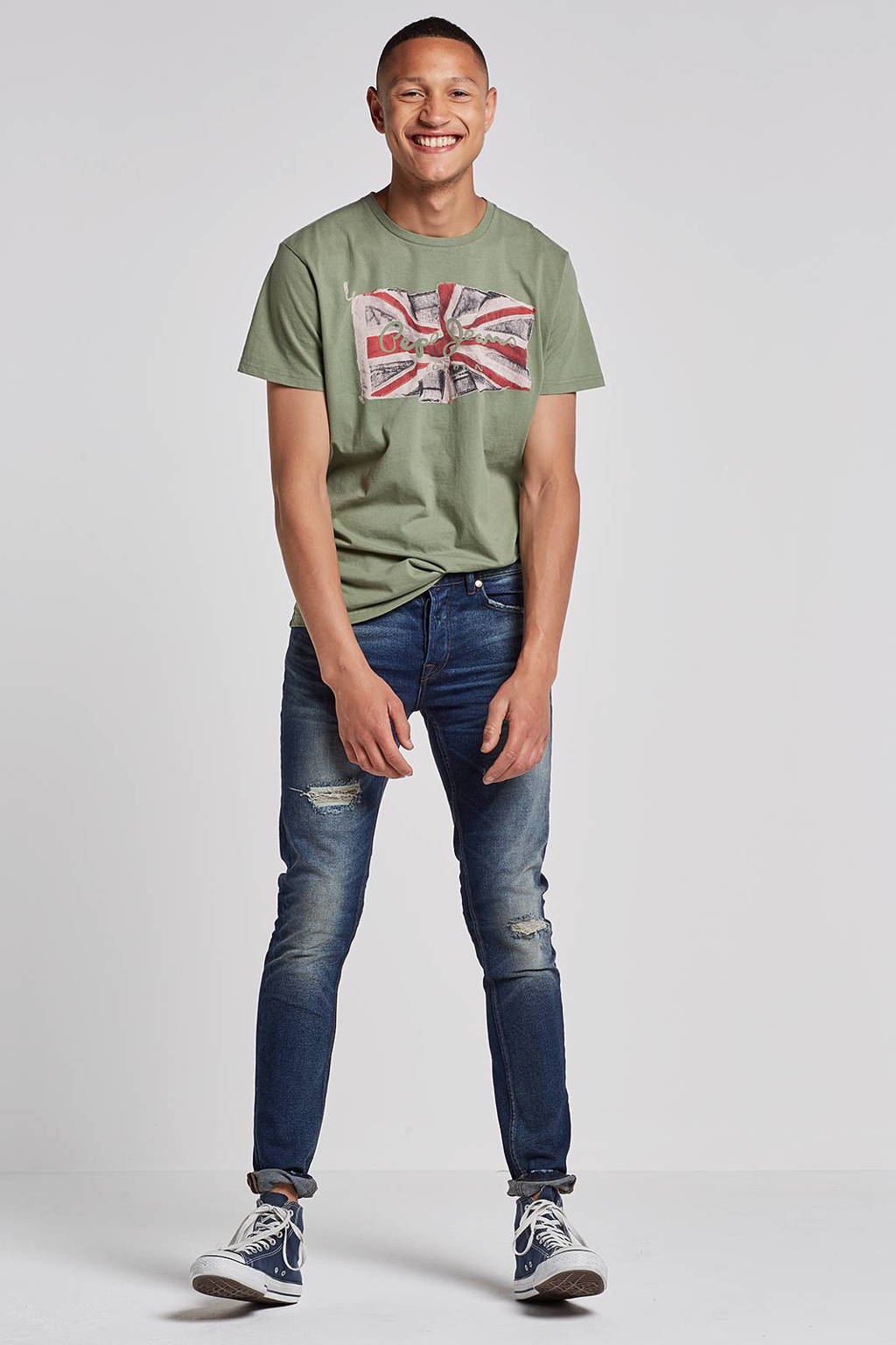 ONLY & SONS slim fit jeans Loom, Blue Denim 0443