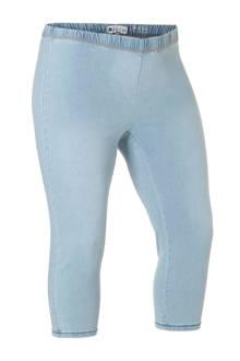 capri legging met denimlook
