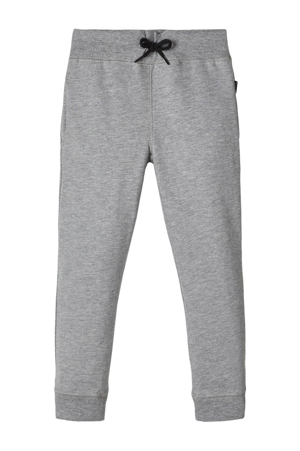 NAME IT KIDS joggingbroek grijs melange, Grijs melange