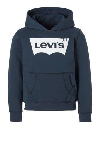 Kids hoodie Batsweat donkerblauw