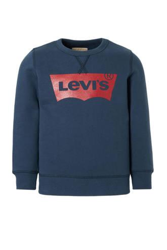 Kids sweater Batwing donkerblauw