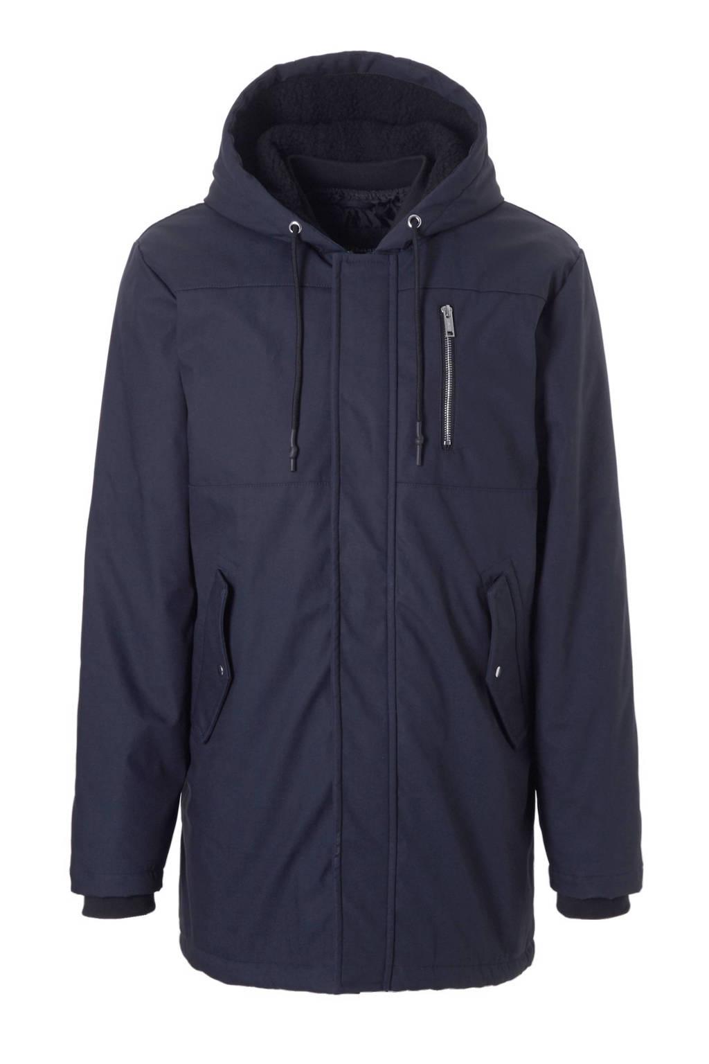 Anerkjendt jas, Donkerblauw