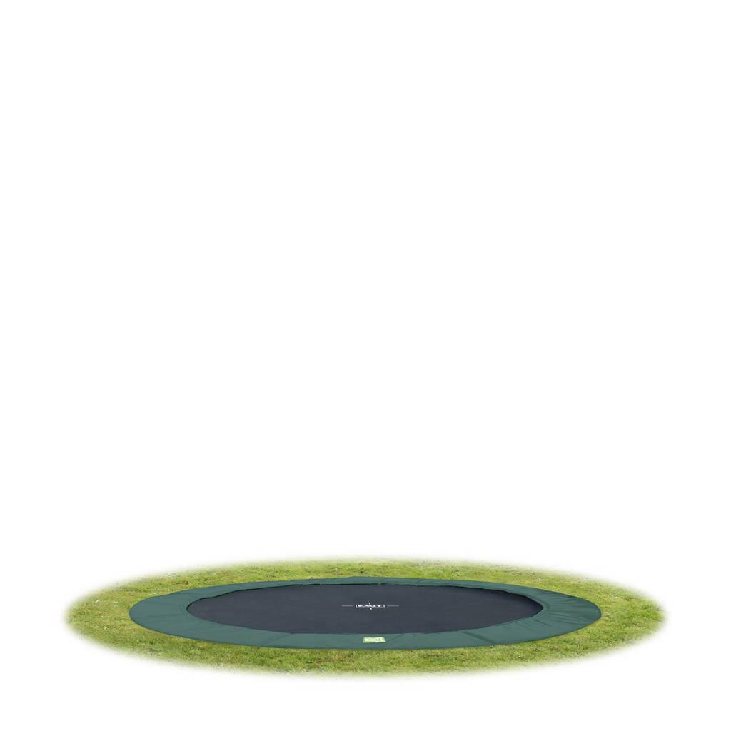 EXIT Interra Ground trampoline Ø305 cm, Groen