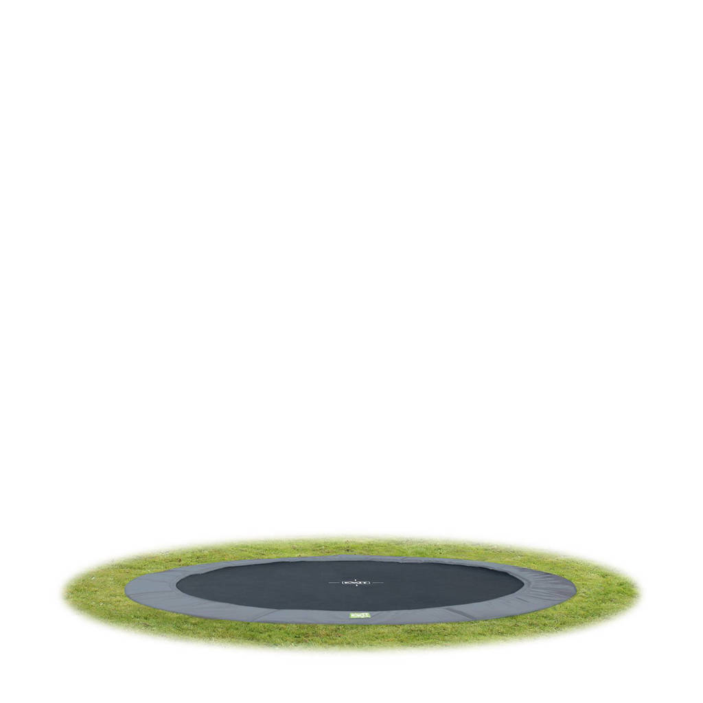 EXIT Interra Ground trampoline Ø305 cm, Grijs