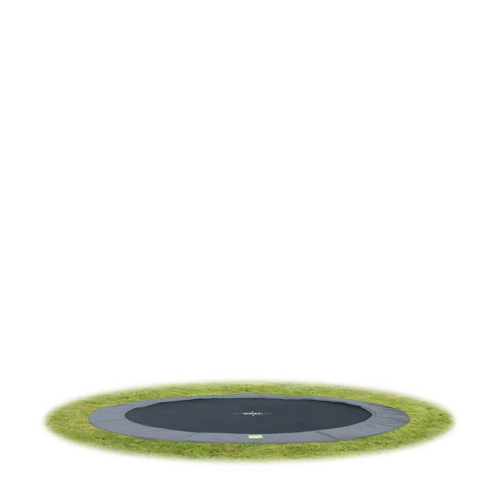 EXIT Interra Ground trampoline Ø366 cm, Grijs