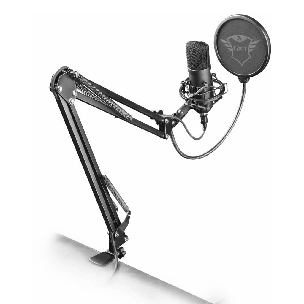 Trust Gaming  GXT 252+ Emita Plus Streaming microfoon, Zwart