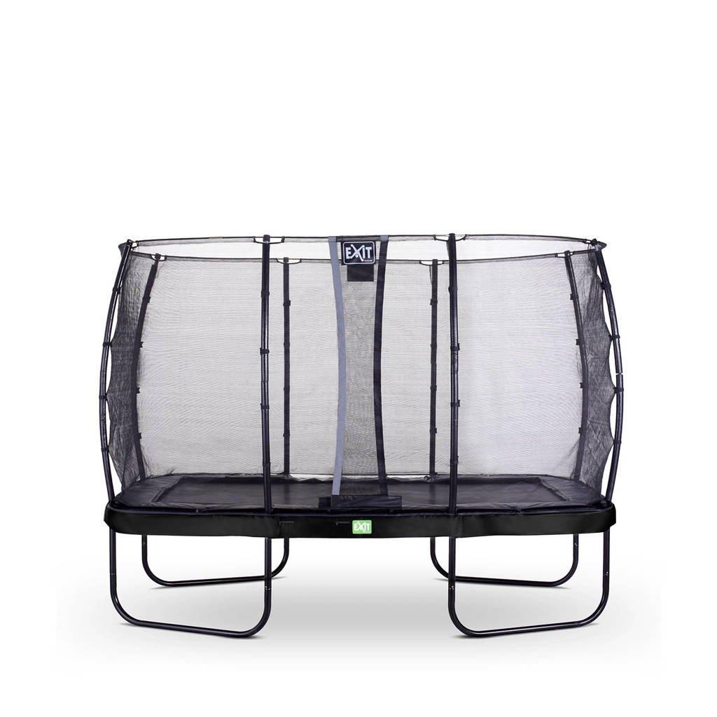 EXIT Elegant trampoline 214x366 cm, Zwart