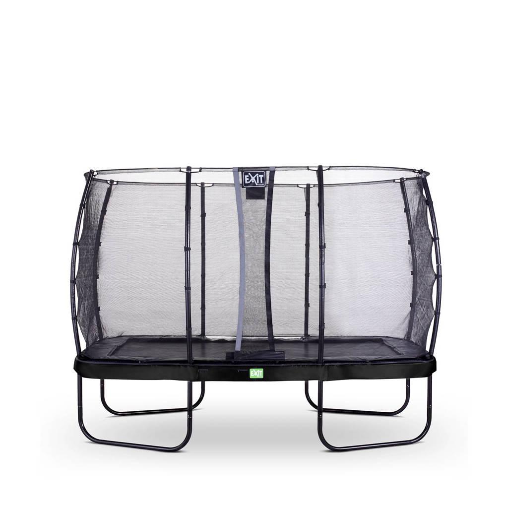 EXIT Elegant trampoline 244x427 cm, Zwart