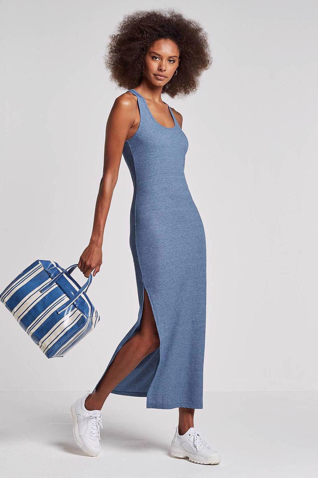 Noisy may mouwloze jurk, Lichtblauw