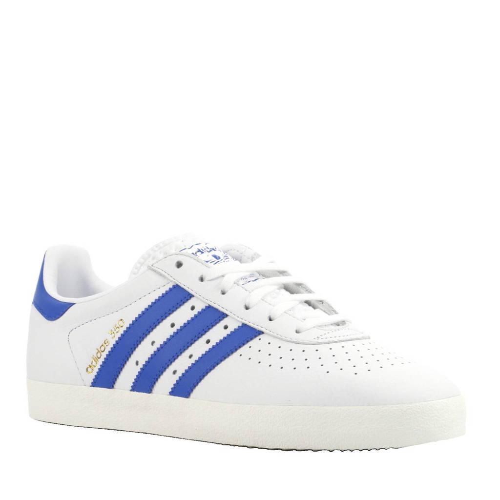 2a32b6779e9 adidas originals 350 Vintage leren sneakers, Wit/blauw