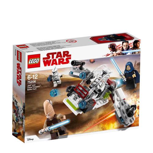 LEGO Star Wars Jedi en Clone Troopers battle pack 75206 kopen
