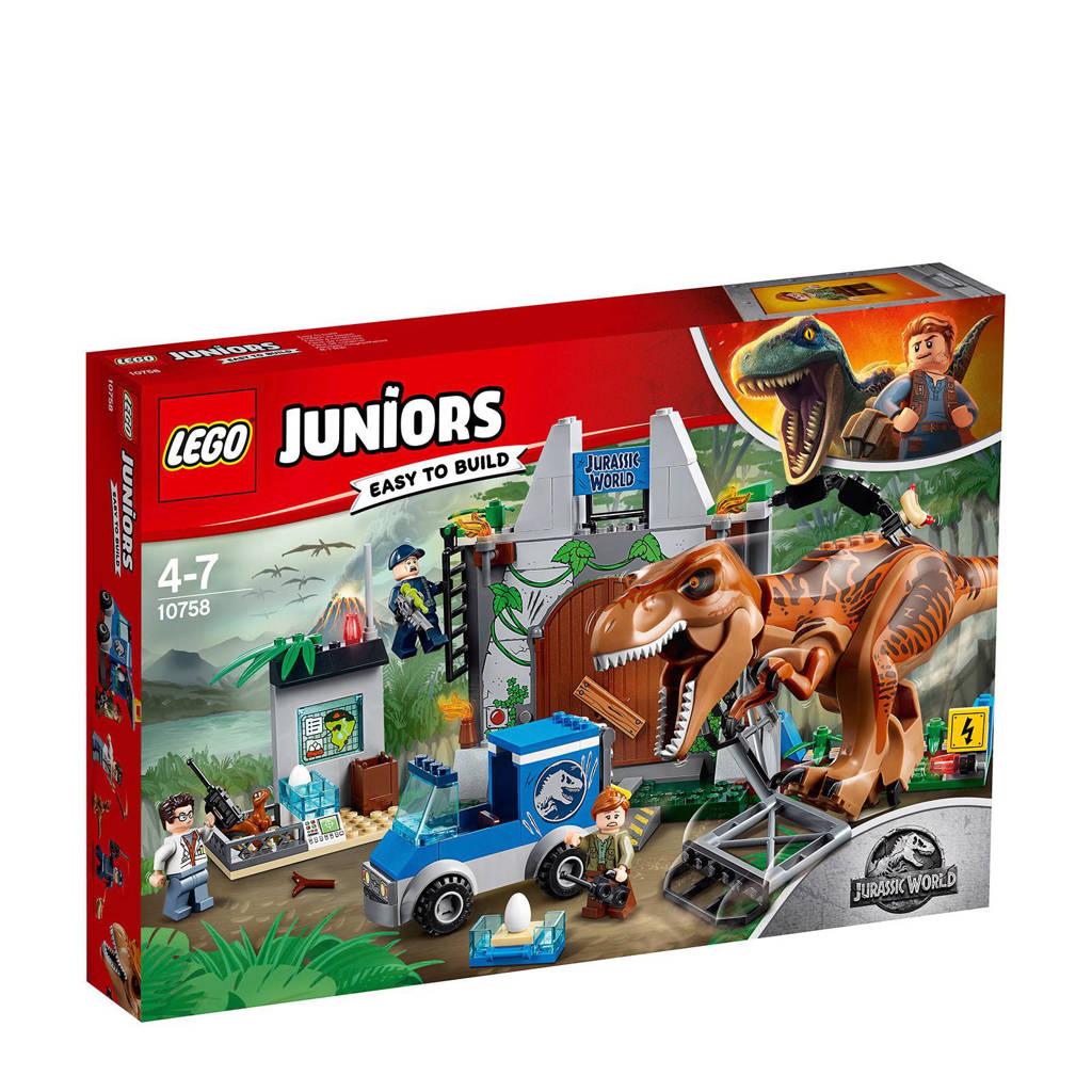 LEGO Juniors T-Rex breakout 10758