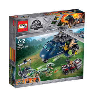 Jurassic World World Blue's Helicopter pursuit 75928