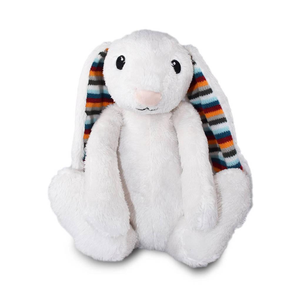 Zazu heartbeat konijn interactieve knuffel, Wit