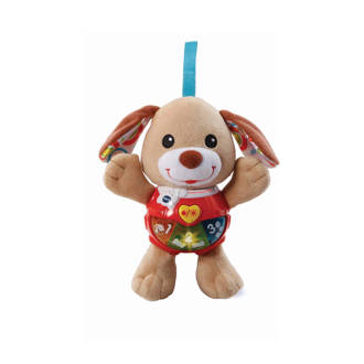 Baby knuffel & speel puppy bruin