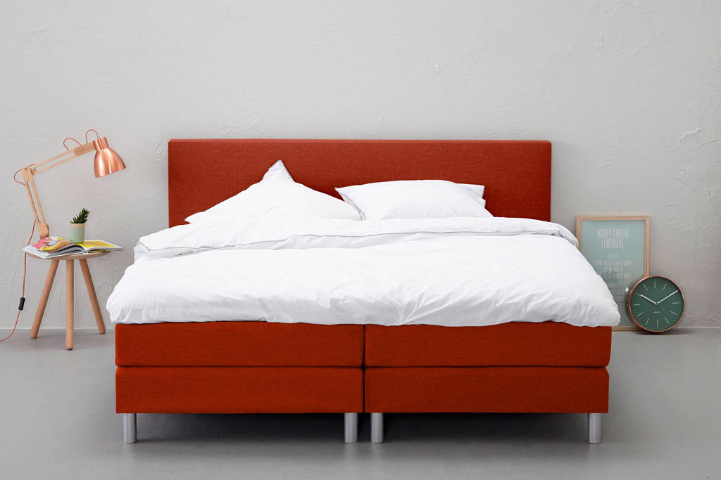 Beter Bed complete boxspring Ambra, 140x200, Roest