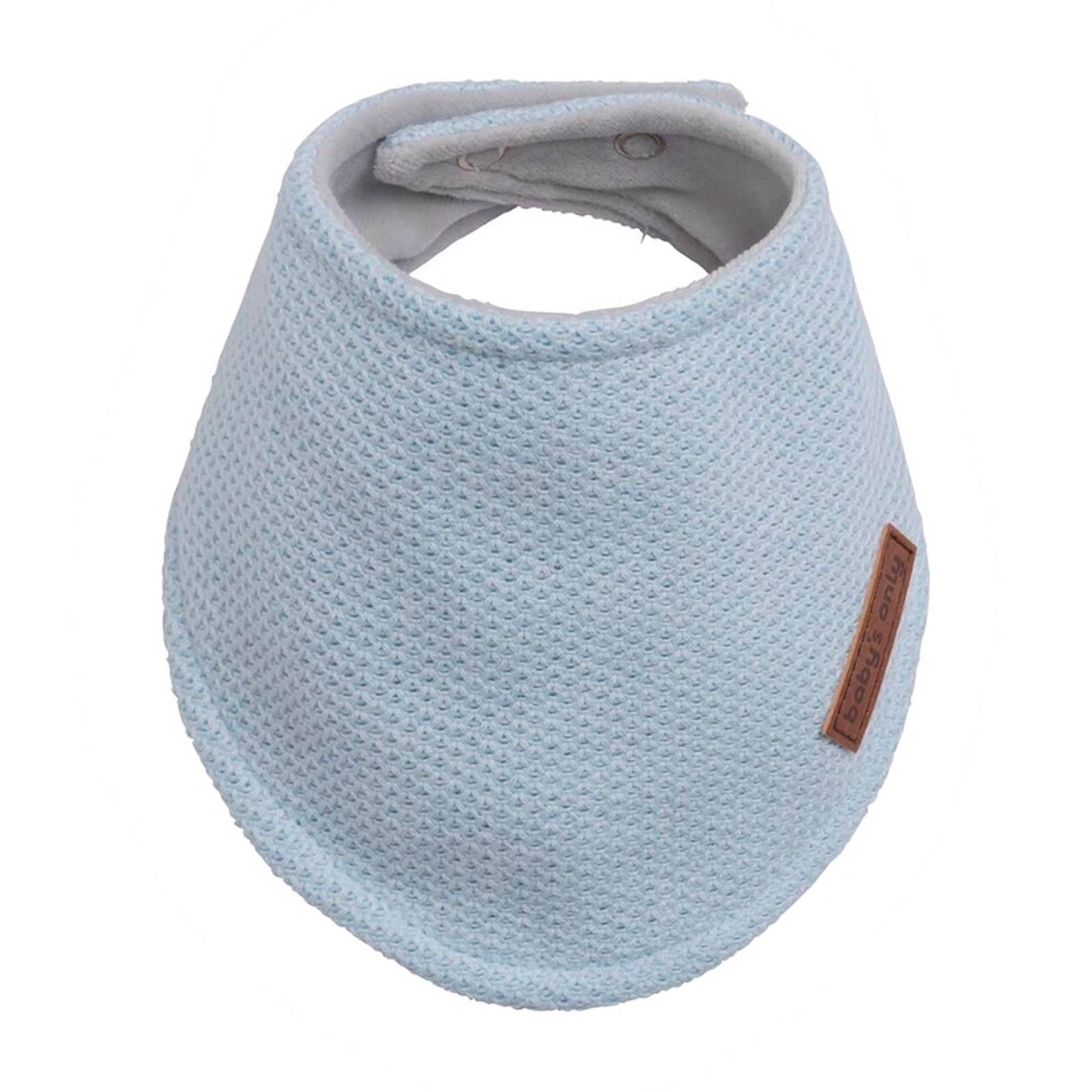 Baby's Only Classic slab bandana poederblauw