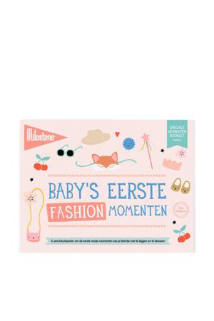 Special Moments fotokaarten - Baby's eerste fashion momenten