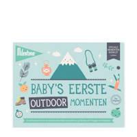 Milestone Special Moments fotokaarten - Baby's eerste outdoor momenten, Groen
