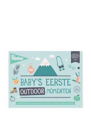 Special Moments fotokaarten - Baby's eerste outdoor momenten