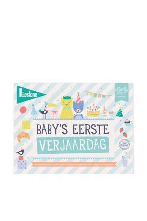 Special Moments fotokaarten - Baby's eerste verjaardag