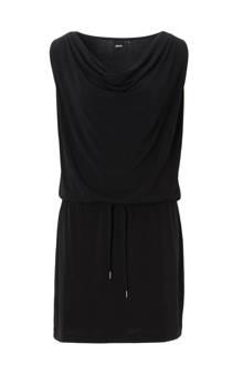 jurk met watervalhals