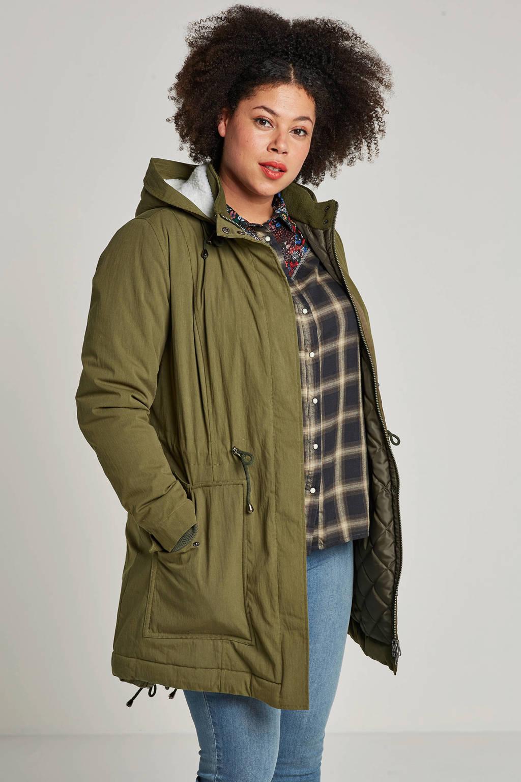 whkmp's great looks jas met capuchon, Groen/wit