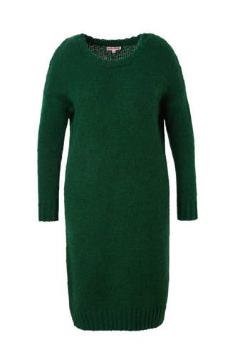 gebreide jurk met wol