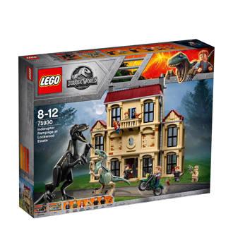 Jurassic World Indoraptor Rampage at Lockwood Estate 75930