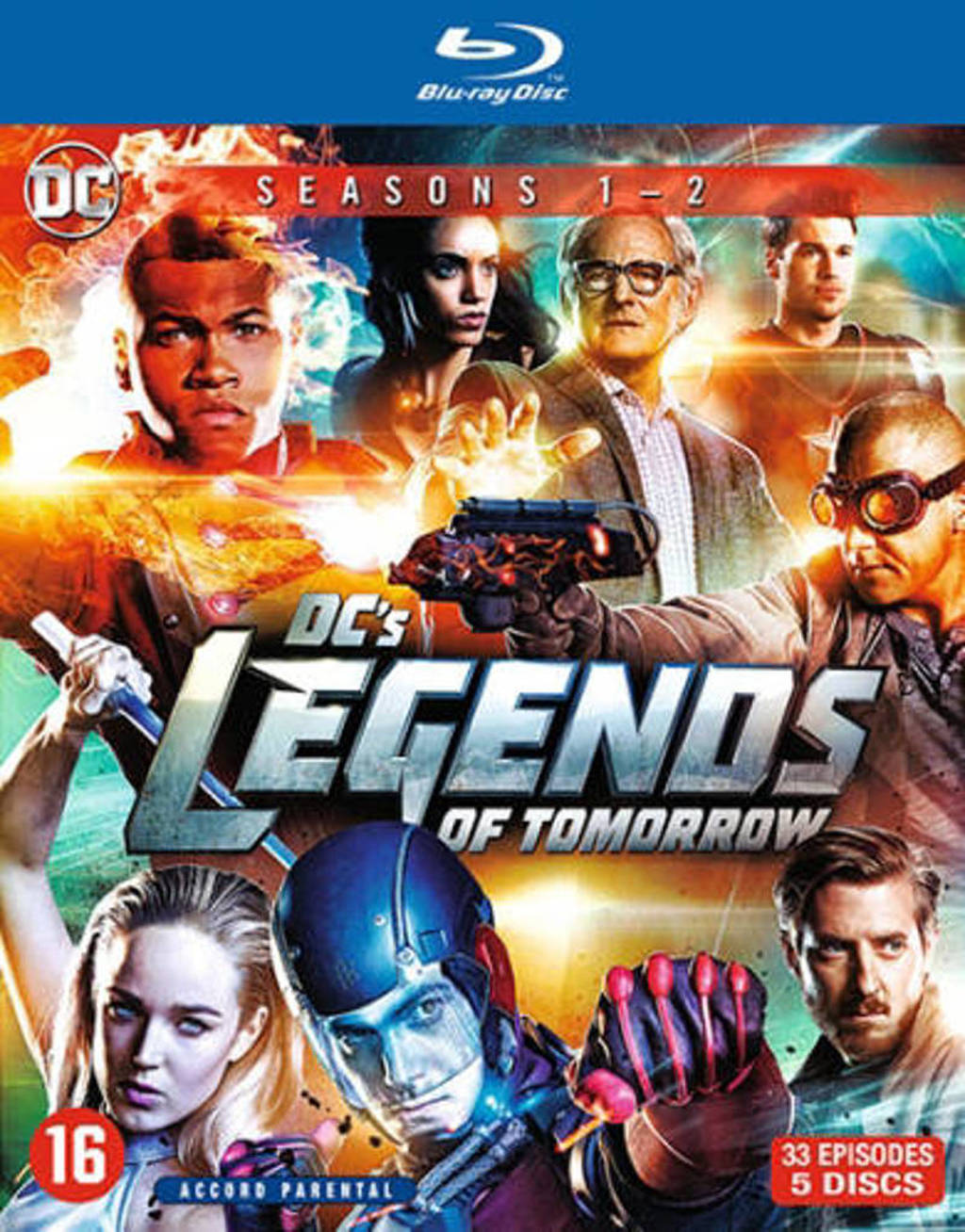 Legends of tomorrow - Seizoen 1 & 2  (Blu-ray)