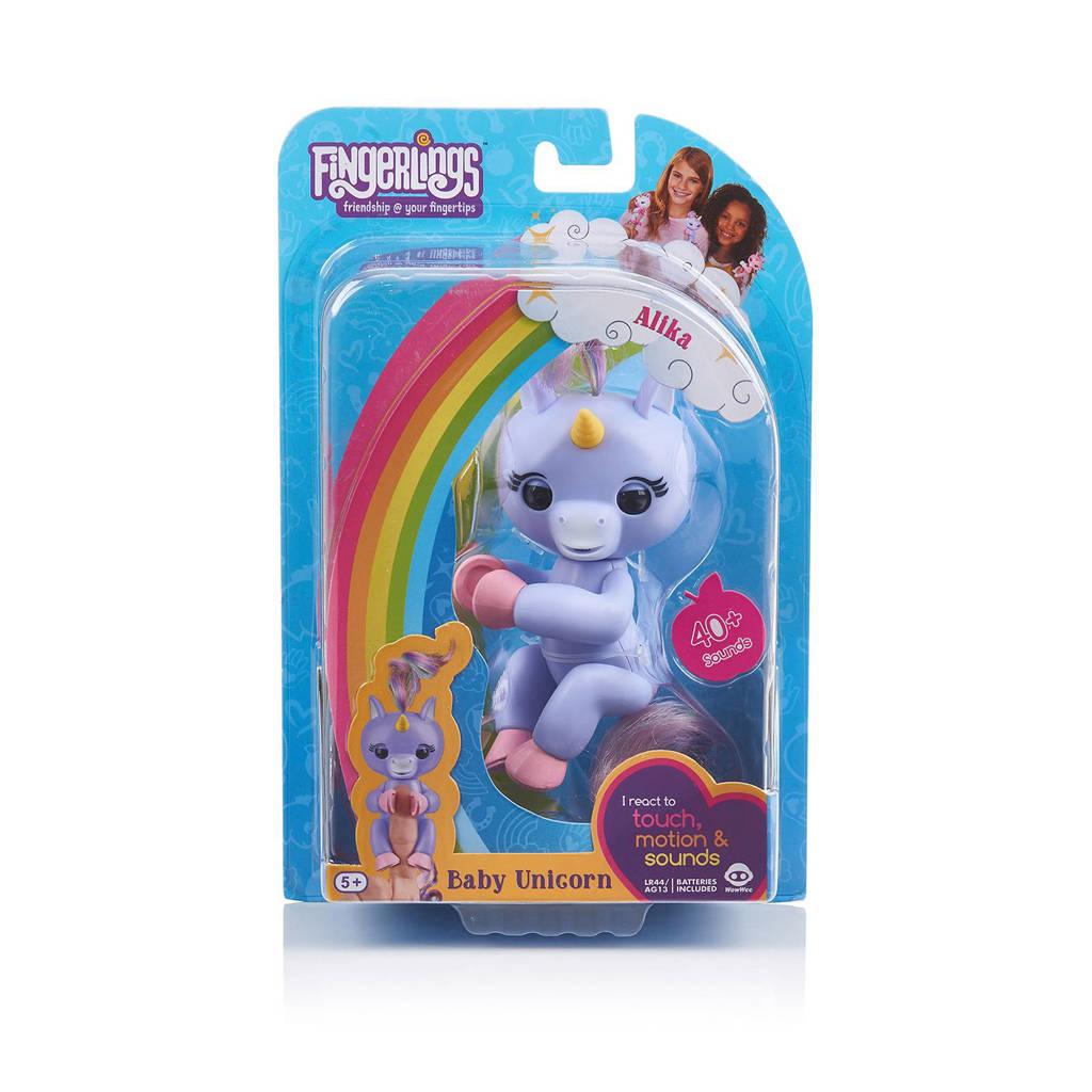 WowWee Fingerlings baby unicorn Alika