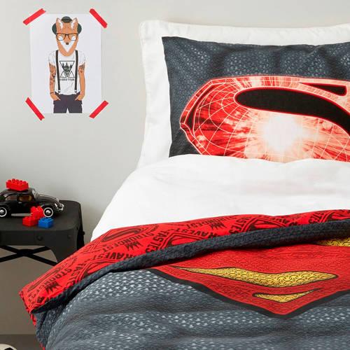 Superman katoenen dekbedovertrek 1 persoons kopen