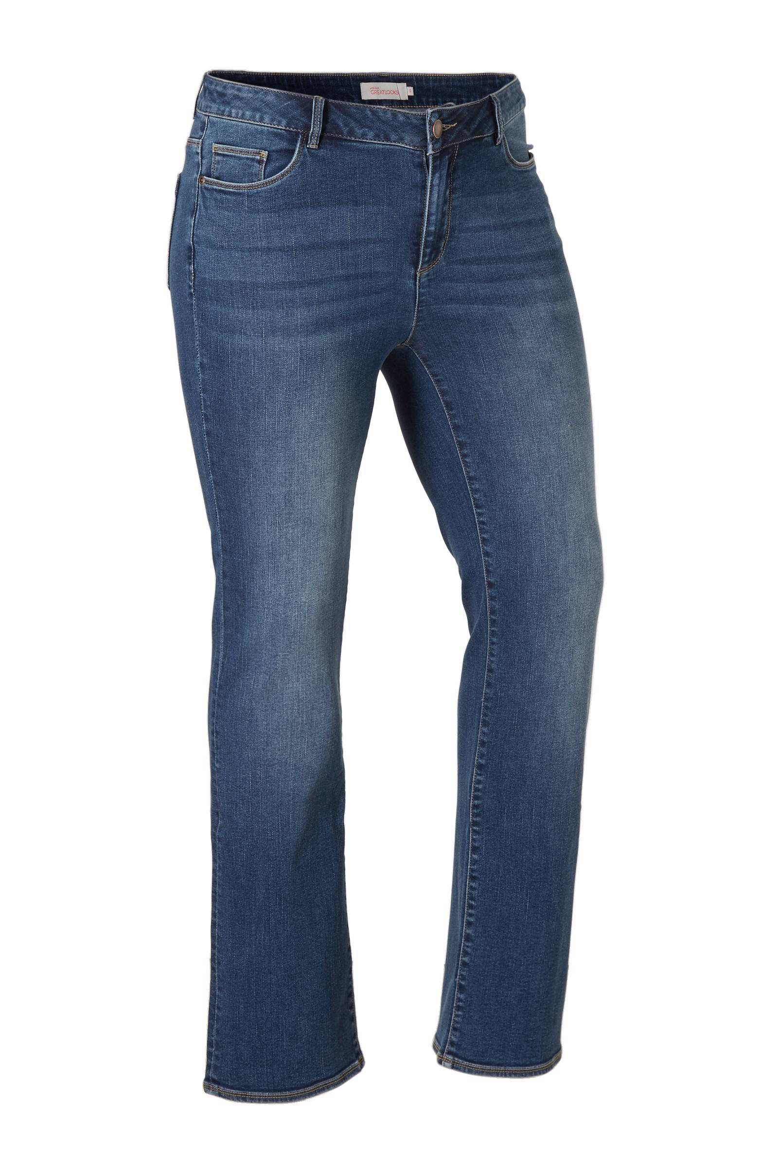 whkmp's great looks bootcut jeans (dames)