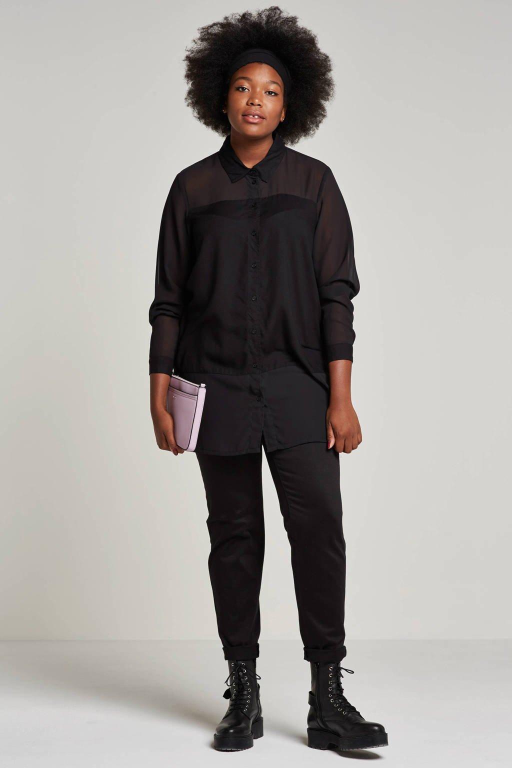 whkmp's great looks regular fit broek, Zwart