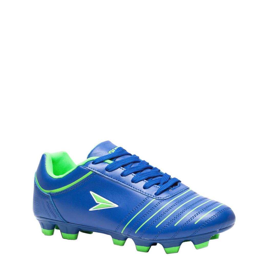 Scapino Dutchy Attack voetbalschoenen, Blauw/groen