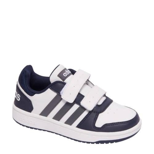 hoops 2.0 imitatieleren sneakers