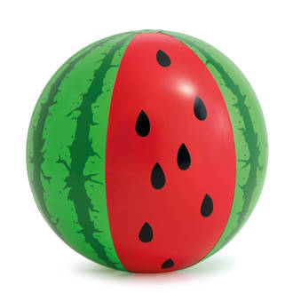 strandbal watermeloen XL