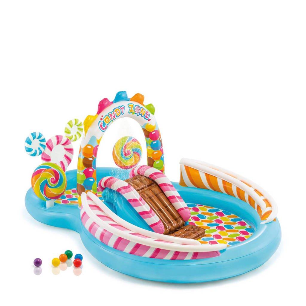 Intex zwembad, Blauw/roze