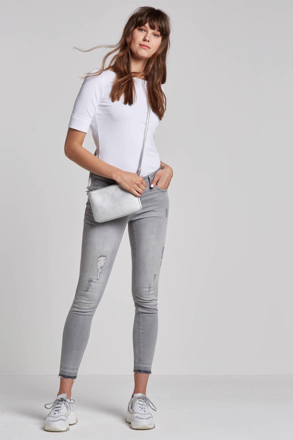 whkmp's own skinny jeans met destroy, Lichtgrijs