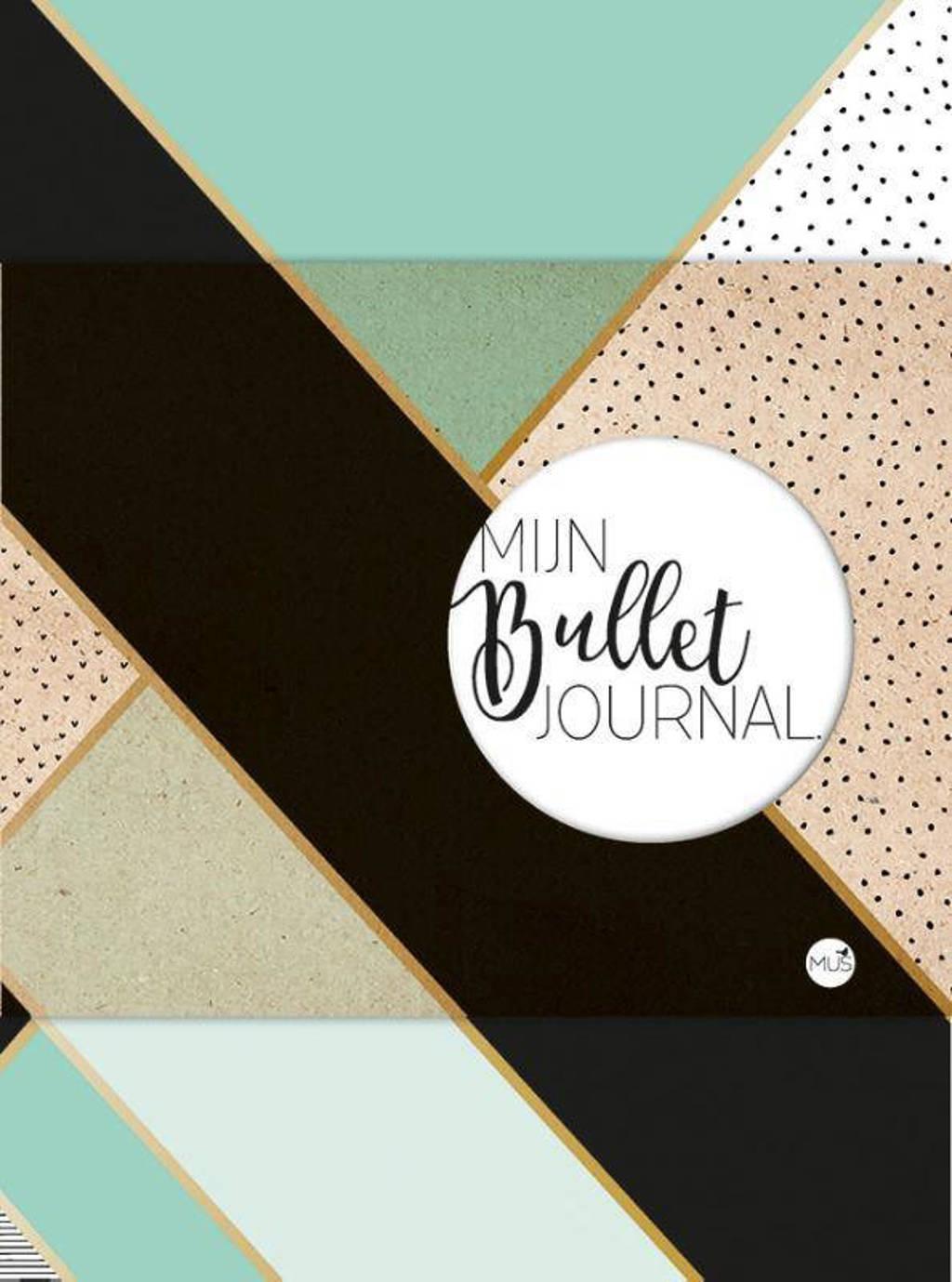 Mijn Bullet Journal - mint & goud - Nicole Neven
