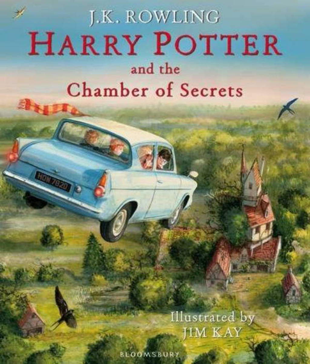 Harry Potter and the Chamber of Secrets - Illustrated Edition - Rowling, J.K.