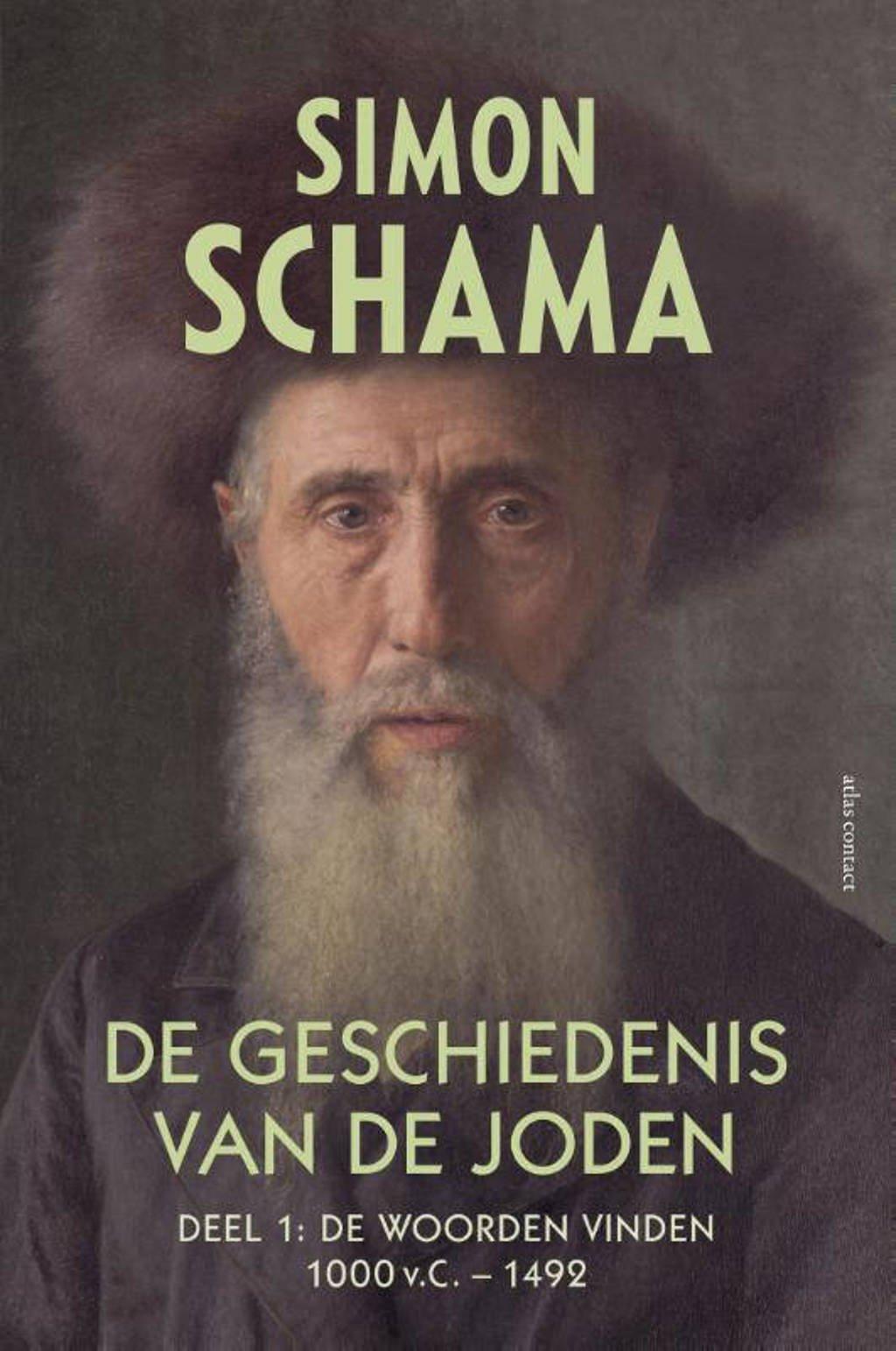 De geschiedenis van de Joden Deel 1: De woorden vinden 1000 v.C. tot 1492 - Simon Schama
