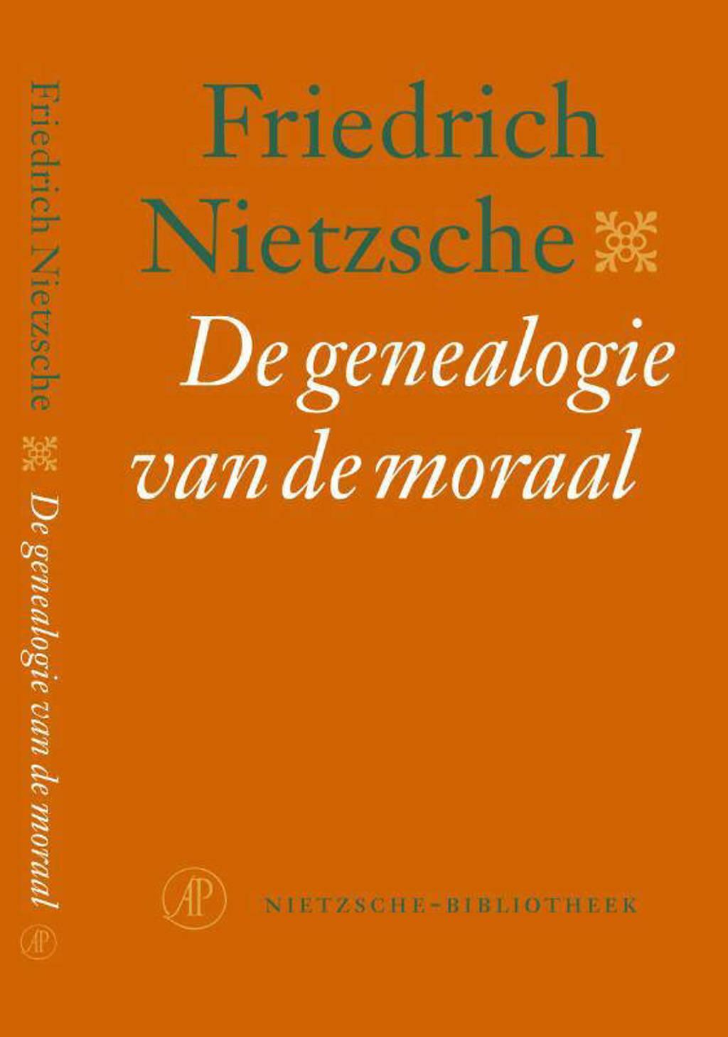 Nietzsche-bibliotheek: De genealogie van de moraal - Friedrich Nietzsche