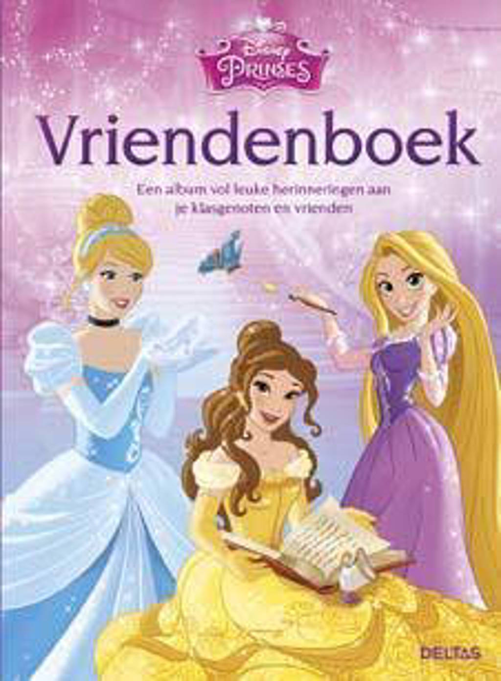Disney Princess: Disney Prinses vriendenboek