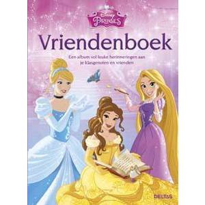 Disney Princess: Disney Prinses vriendenboek