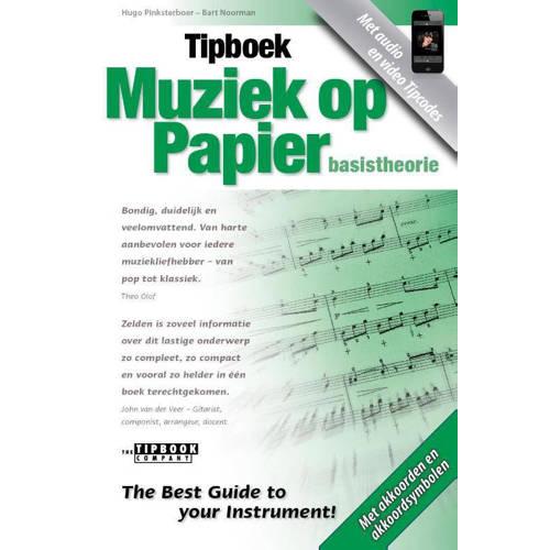 Tipboek Muziek op papier