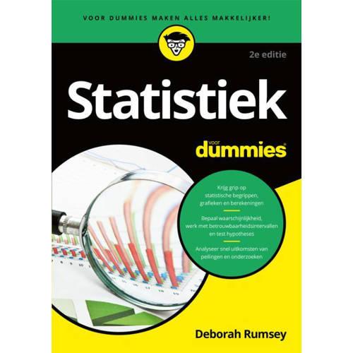 Voor Dummies: Statistiek voor Dummies - Deborah J.